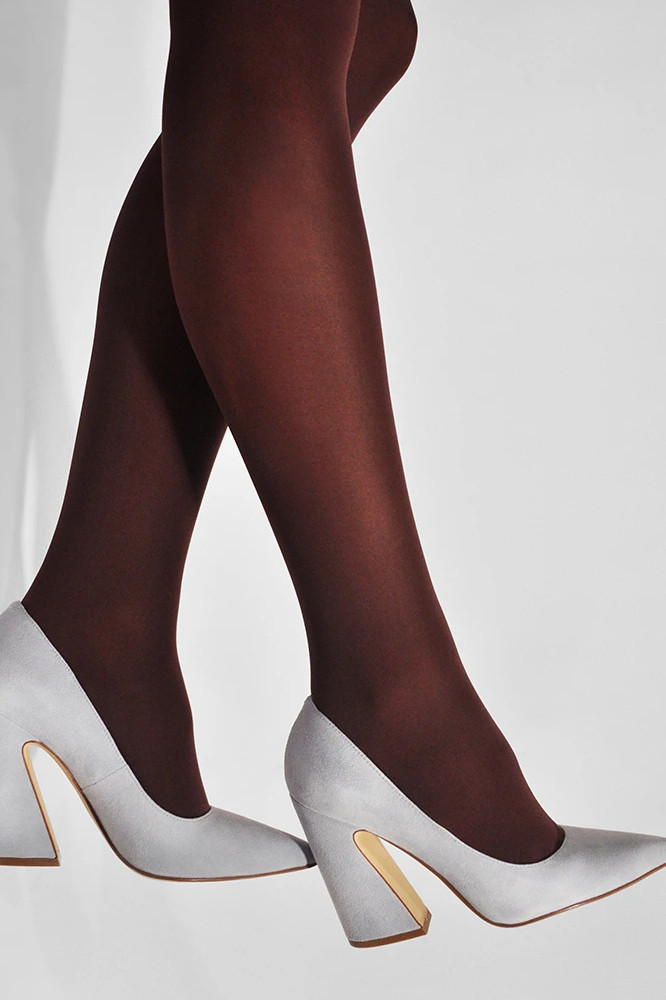 Roberta Organic Fashion Swedish Stockings Olivia Bordeaux 2
