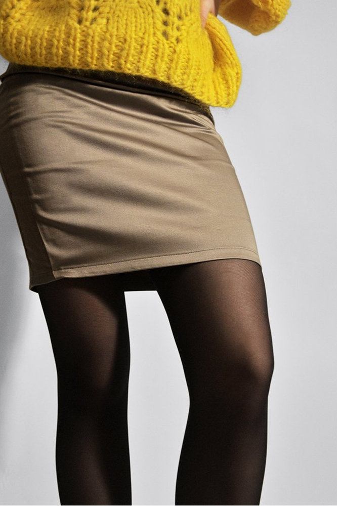 roberta organic fashion swedish stockings Svea Strumpfhose schwarz detail