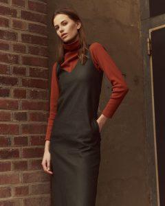 KLeid und Longsleeve von Nadja Kiess AW18 Mode Kollektion