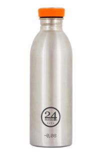 Trikflasche von 24 bottles aus Edelstahl gebürstet