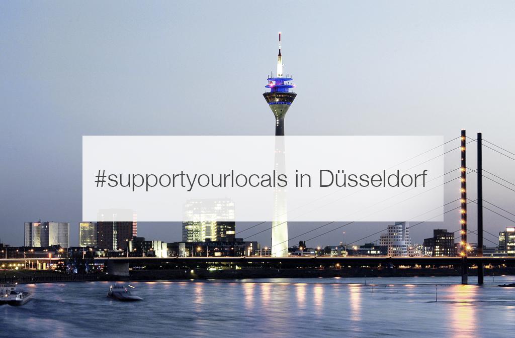 supportyourlocals Düsseldorf